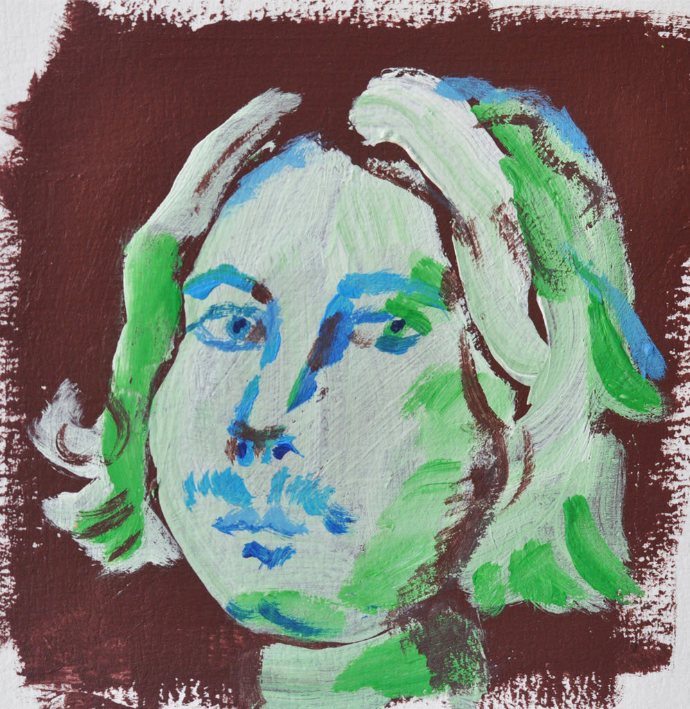 Old Masters Portraits | Acrylic on Paper / 13x13 cm / 2014