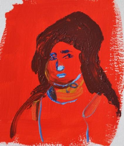 Acrylic on Paper / 13x15 cm/ 2014