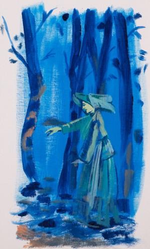 Acrylic on Paper / 16x29 cm/ 2014