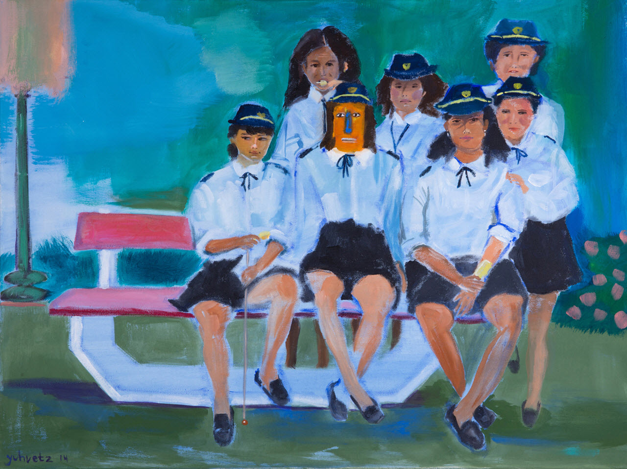 Play Together | Acrylic on canvas / 80x60cm / 2014